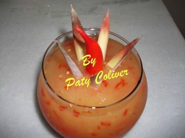 Geléia de abacaxi com pimenta: Paty Coliver