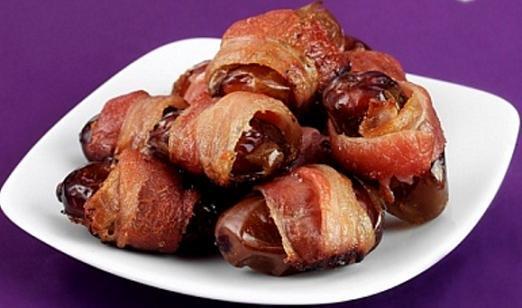 Datiles con bacon
