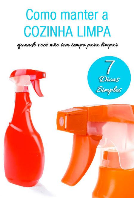 7 dicas para manter a cozinha sempre limpa