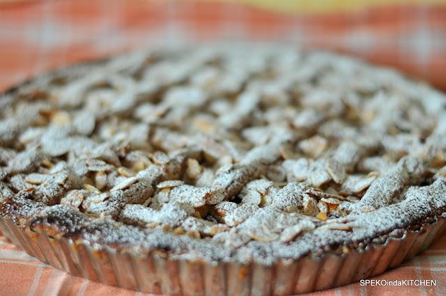 Linecká ríbezľová torta