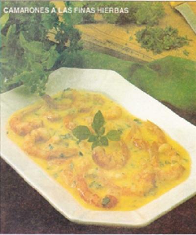 camarones en salsa