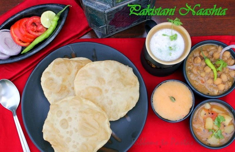 Pakistani Punjabi Naashta