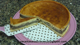 TORTA DE SEMENTE PAPOULA – Mohntorte