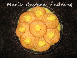 Marie Custard Pudding
