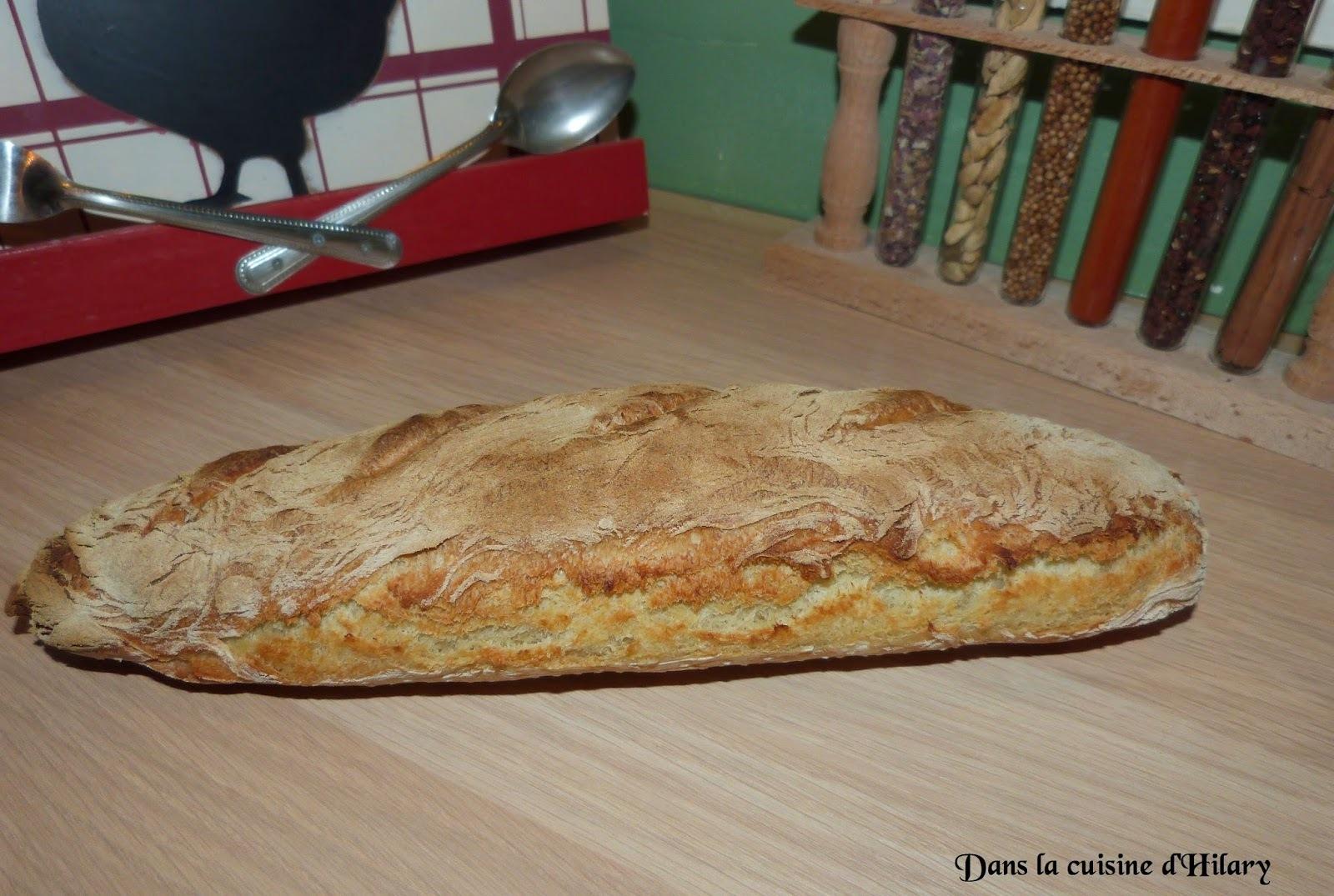 Baguette maison / Home-made baguette
