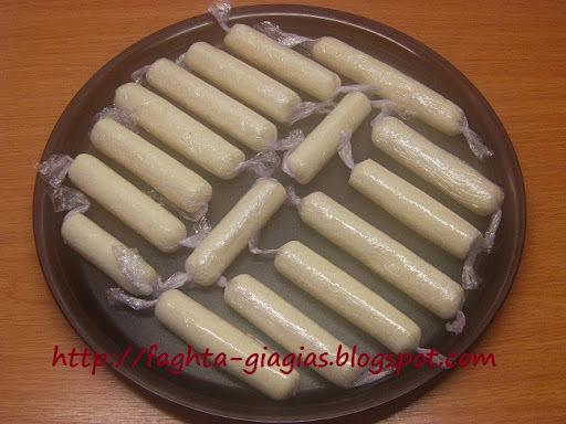 Ράβδοι με ινδική καρύδα (ινδοκάρυδο)