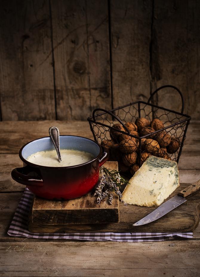 Salsa de quesos asturianos: La Peral y Gamonéu