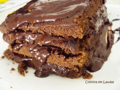 O melhor bolo de chocolate do mundo [The best chocolate cake in the world]