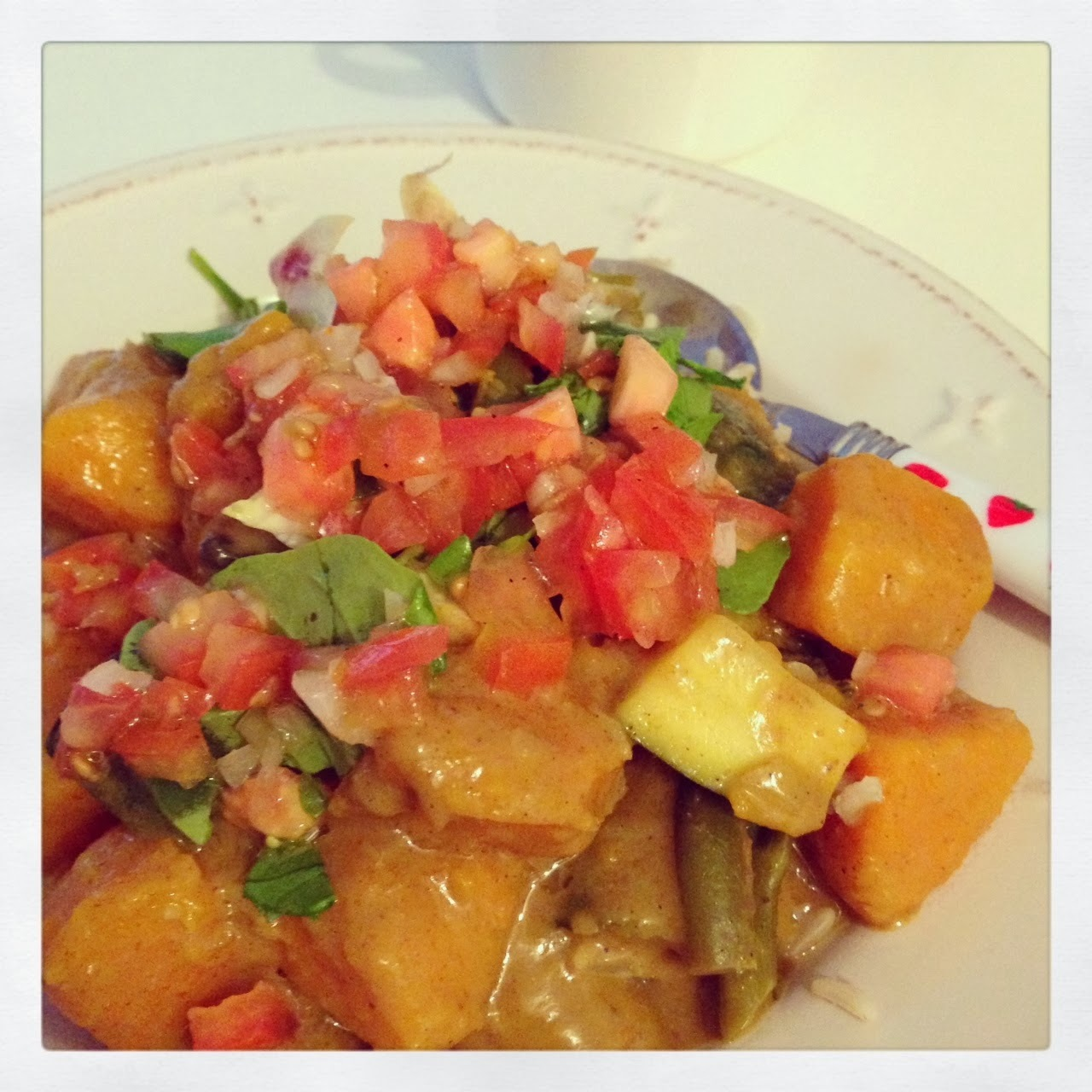 Butternut curry and the benefits of turmeric