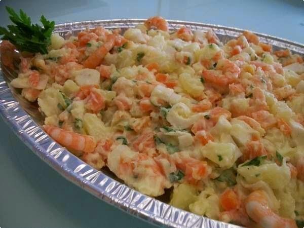 Maionese com camarão