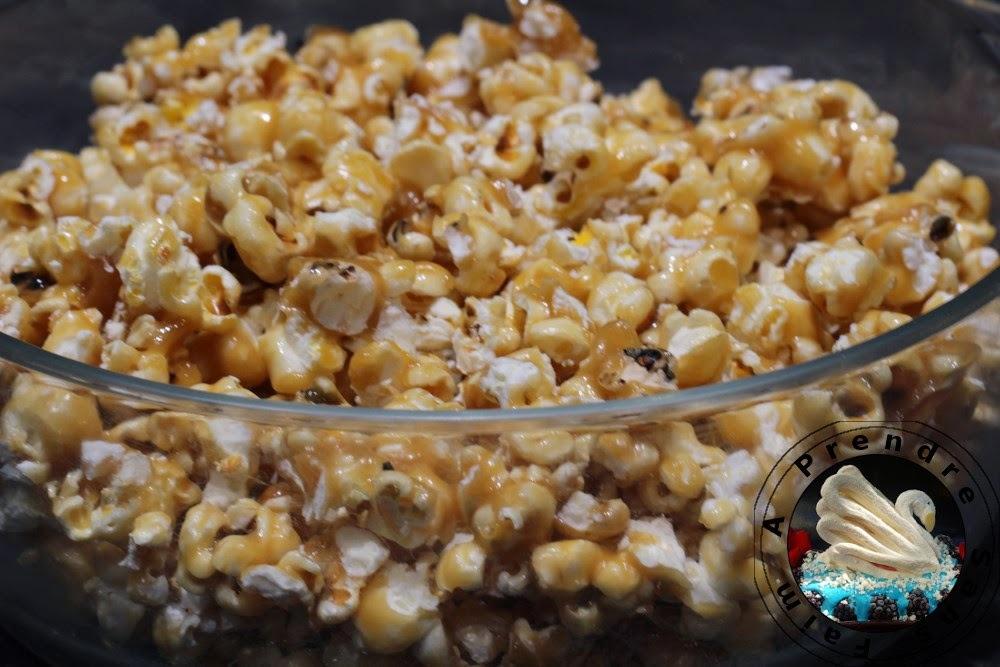 Pop-corn caramélisés de Lorraine Pascale