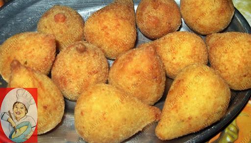 nhoque de batata feito com massa de coxinha