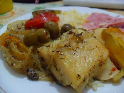 como preparar bacalhau dessalgado com batatas no forno