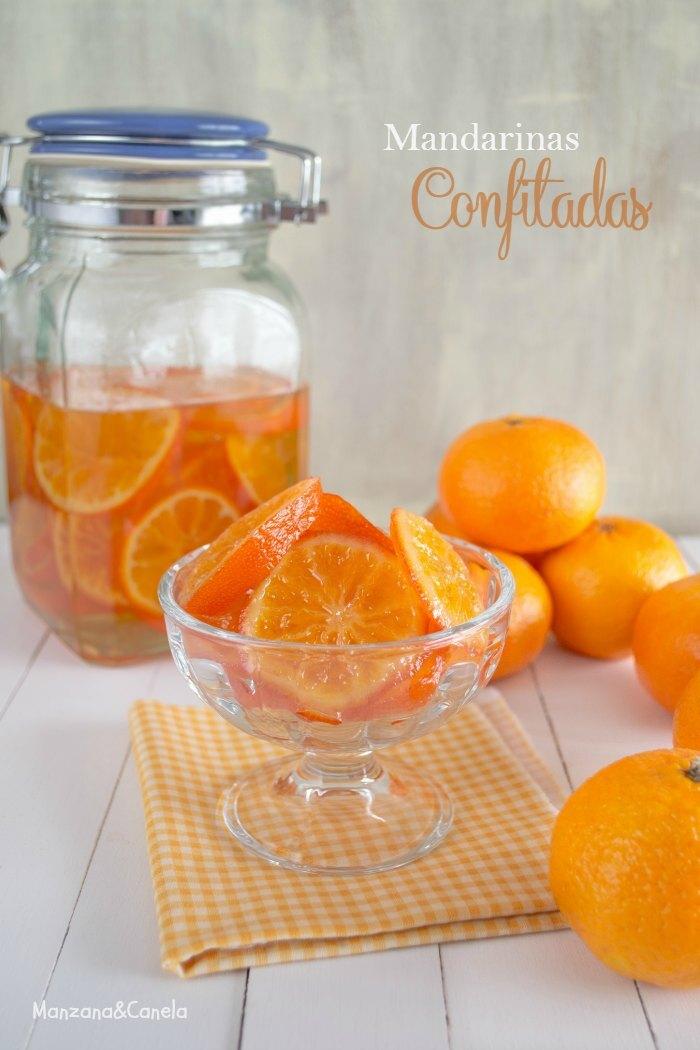 Cómo confitar mandarinas