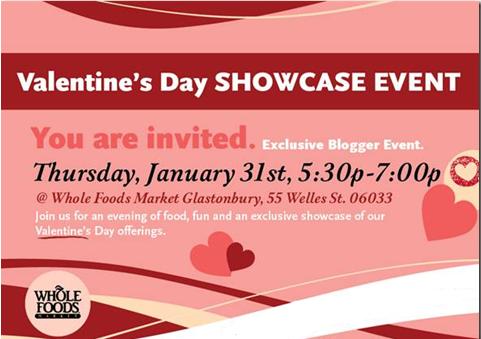 Whole Foods Market Valentine Showcase Event