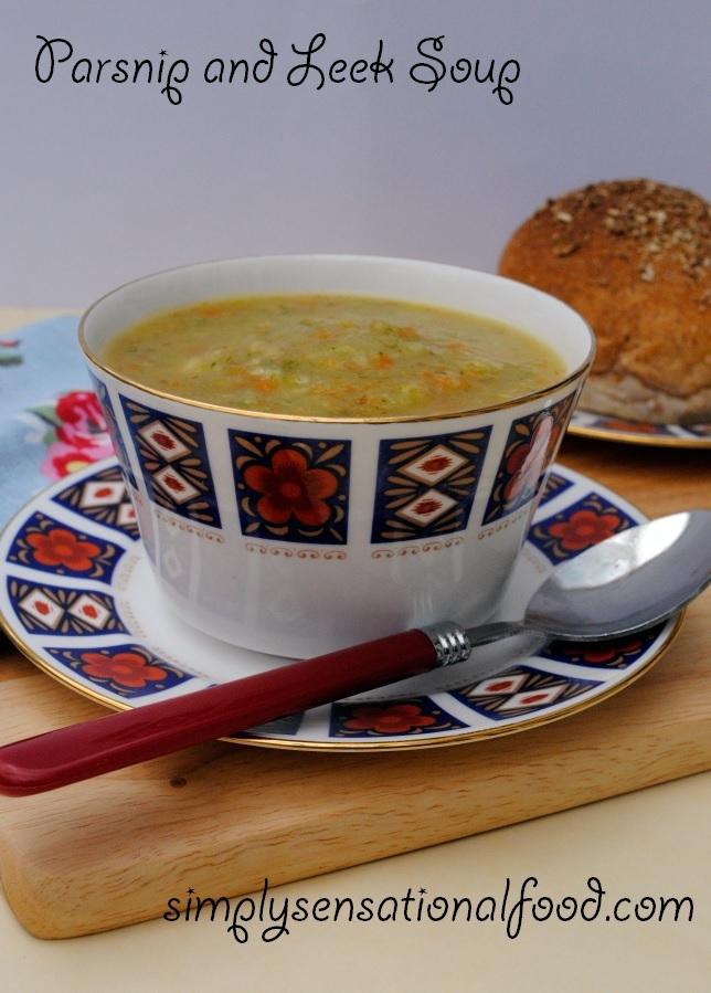 Parsnip and Leek Soup ~ 5-2 Diet