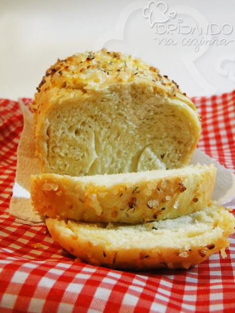pasta de alho para pão com ovo