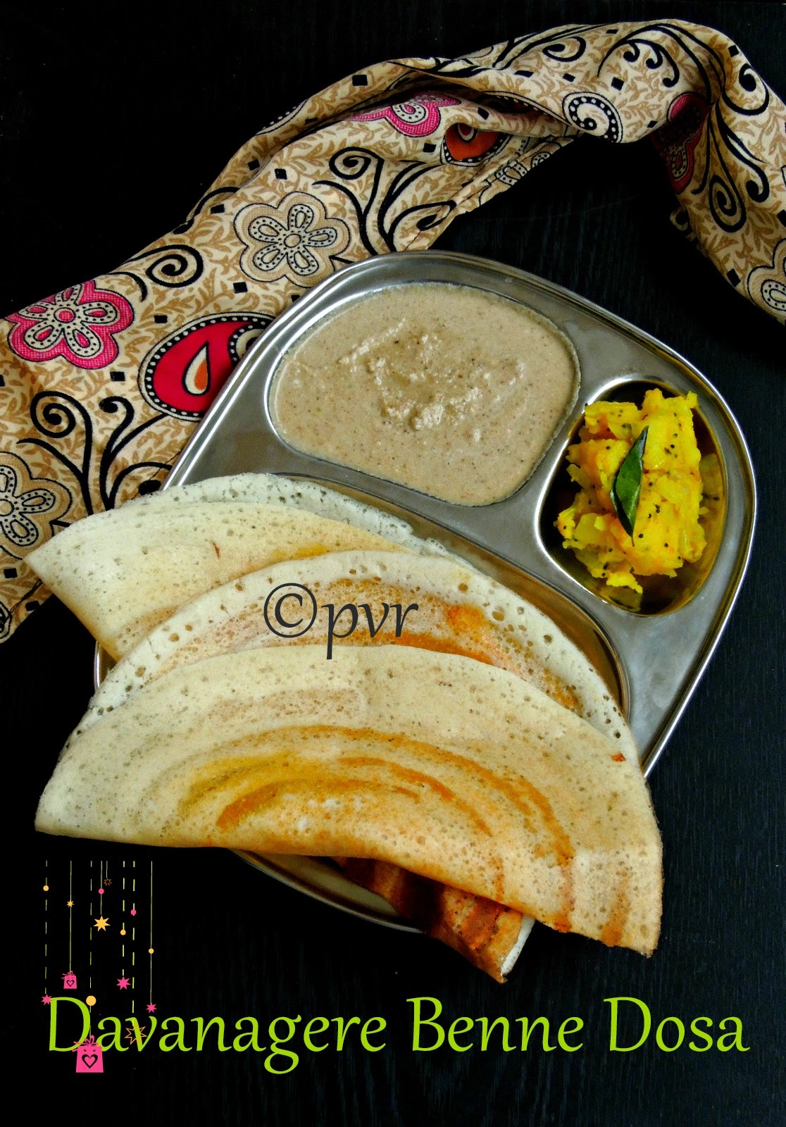 Davanagere Benne Dosa - Karnataka Special