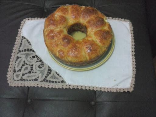 receita de pão de mandioquinha diet