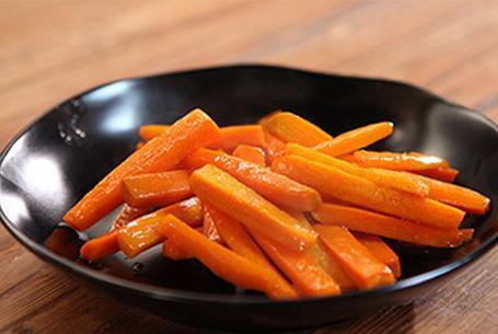Como hacer zanahorias glaseadas facil