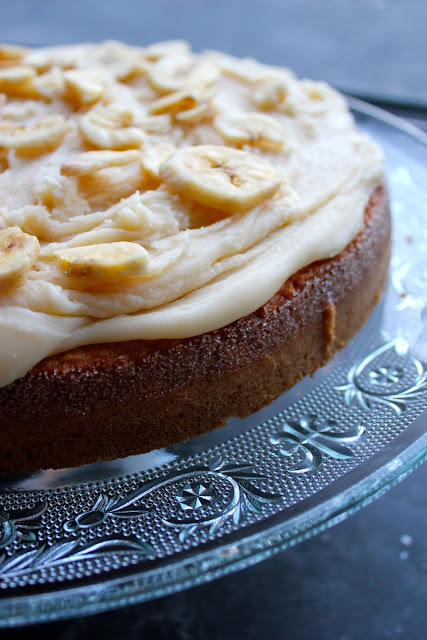 banoffee cake...