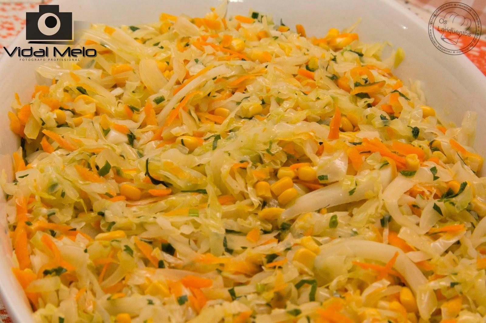Salada de repolho refogado
