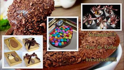 como fazer recheio de trufa tradicional de chocolate para ovo de pascoa