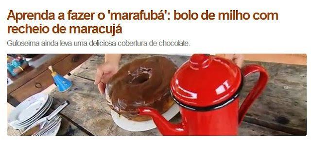 Bolo Marafubá - Terra de Minas