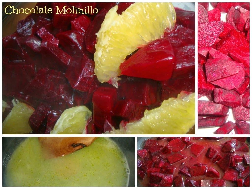 Ensalada de Betabel (Remolacha) y Naranja