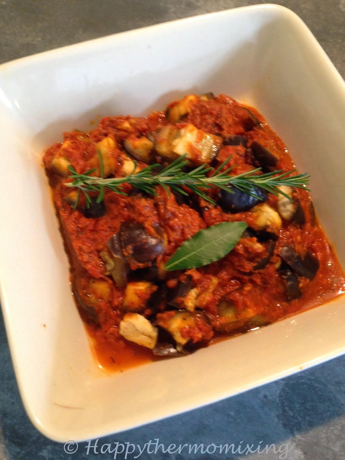 Mijoté d'aubergine - Eggplant stew