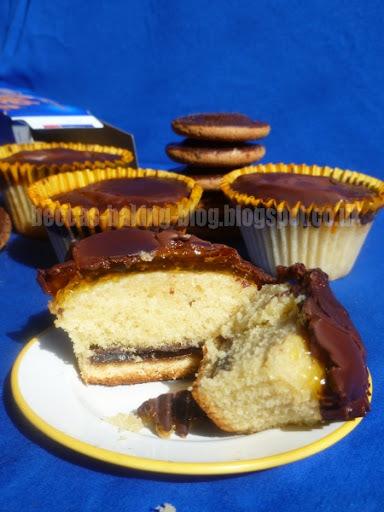 jaffa cake cupcake