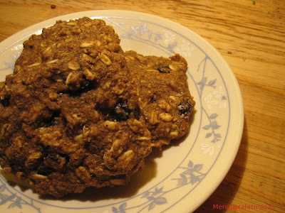 Menú del día: Galletas de avena y frutos secos