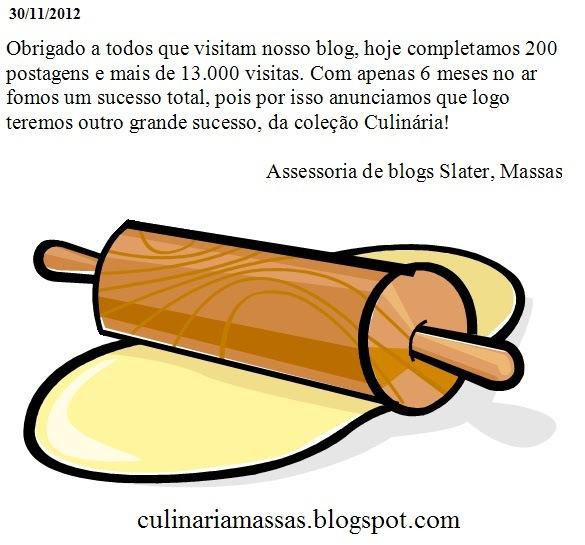 Massas, Postagem 200:Massa de Feijão Fradinho