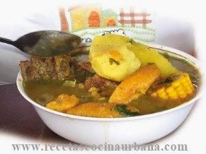 Como cocinar Sancocho de carne, cocina ecuatoriana