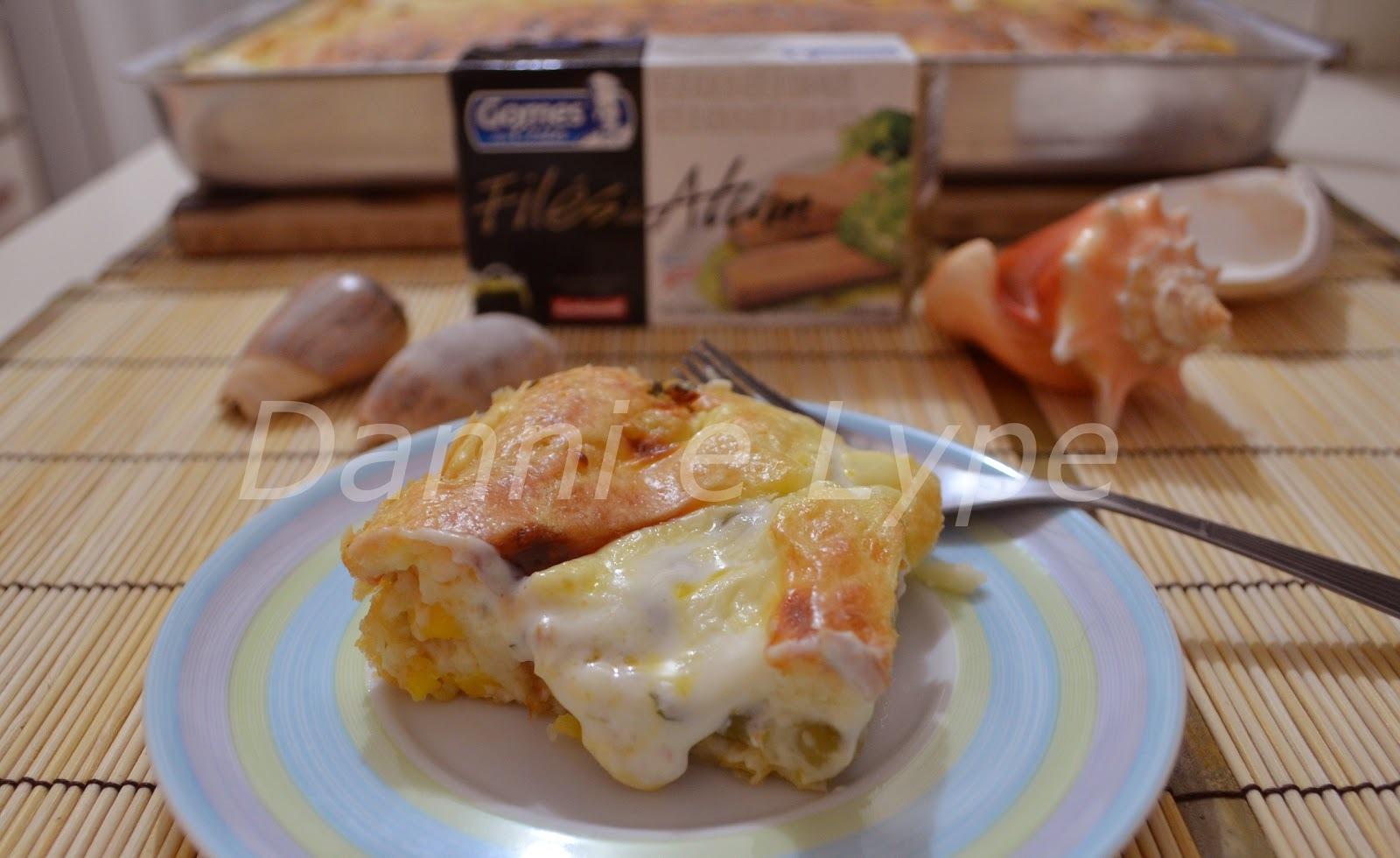 Torta de Coalhada com Atum