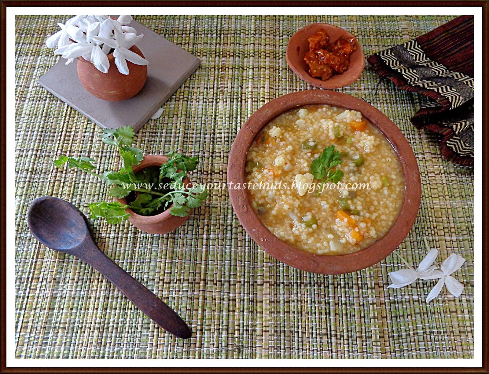 Masala Barnyard millet Porridge