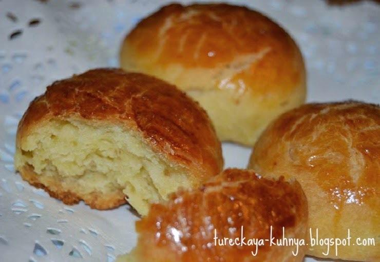Несладкие булочки без начинки (Sade pogaca)