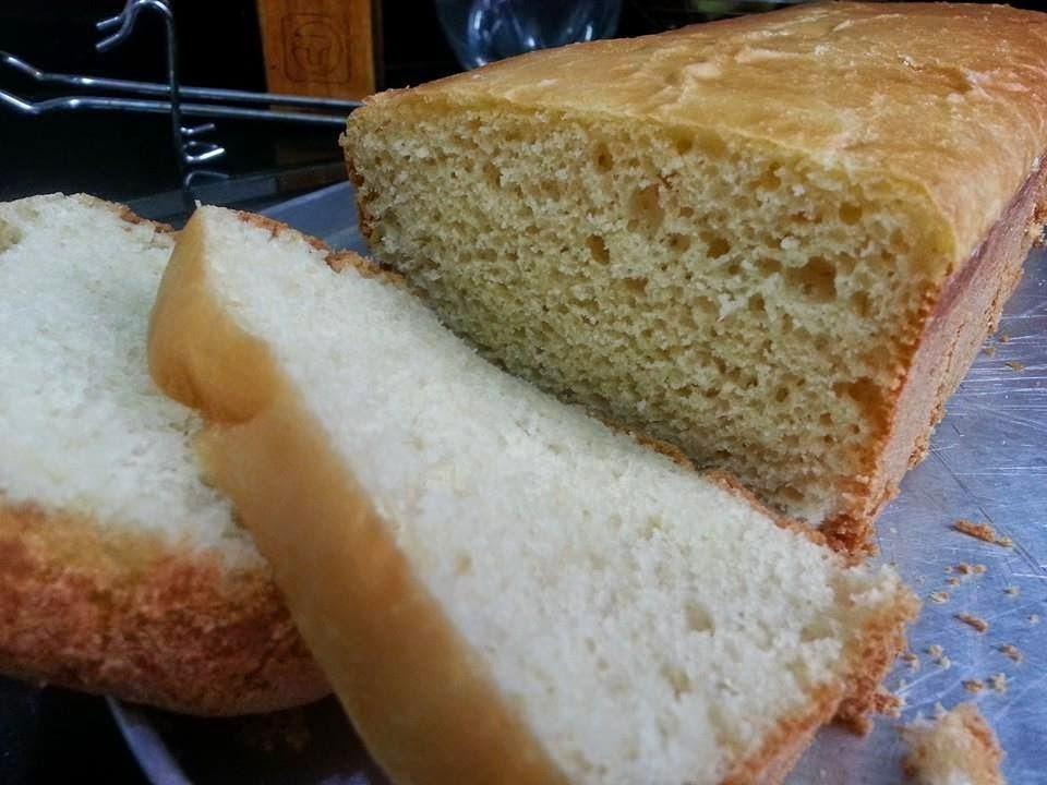 Receita de pão na forma gostosa e fácil