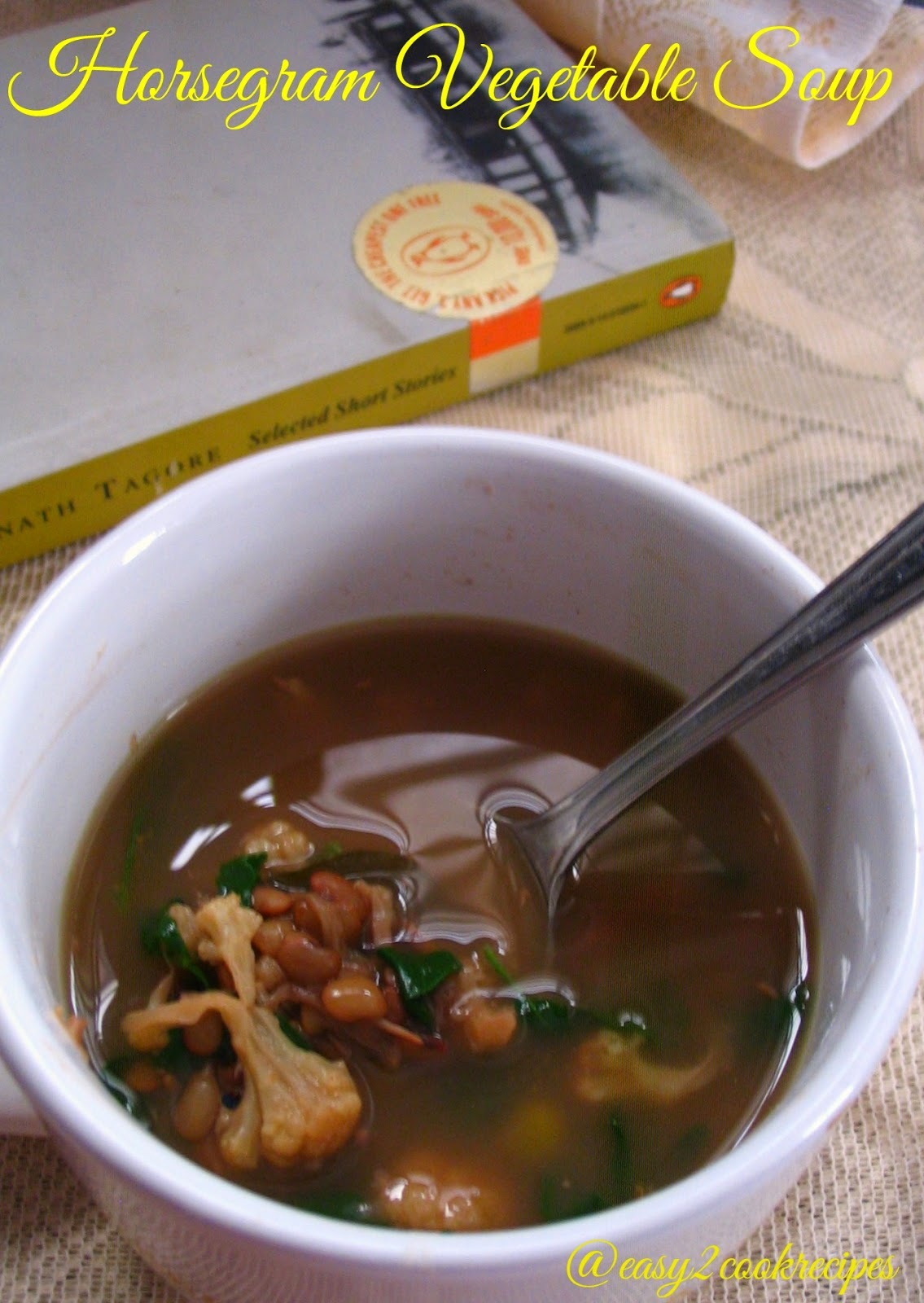 HORSEGRAM VEGETABLE SOUP