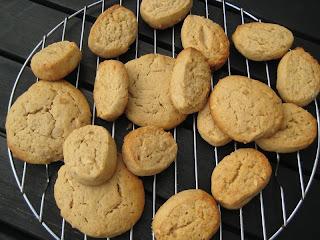 Orechové keksy