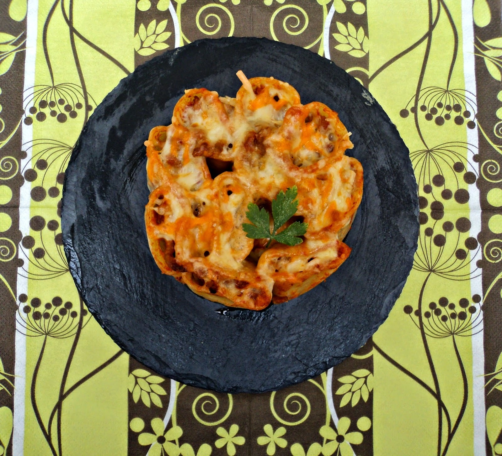 Tarta de Paccheri (Macarrones gigantes)