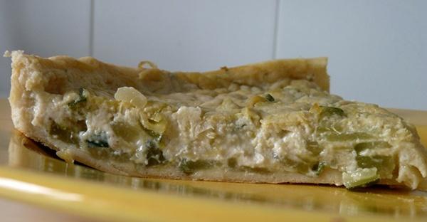 Quiche Vegano de Zucchini