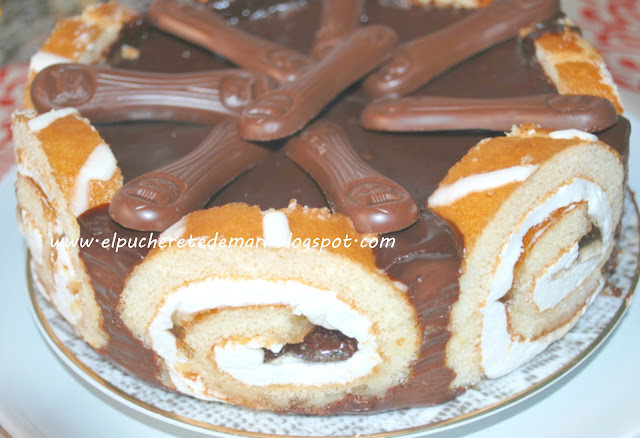 TARTA DE CHOCOLATE EXPRESS