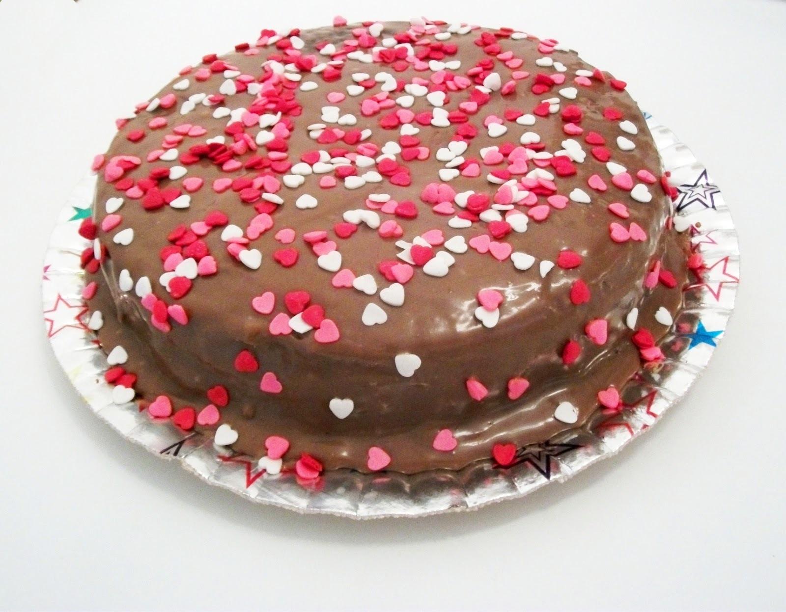 como escrever em bolo com chocolate