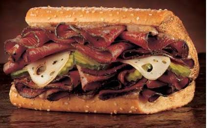 Sandwich de Pastrami Receta de Ariel Rodriguez Palacios