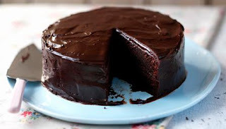 Chocolate Cake Recipe made of Bourbon Biscuits