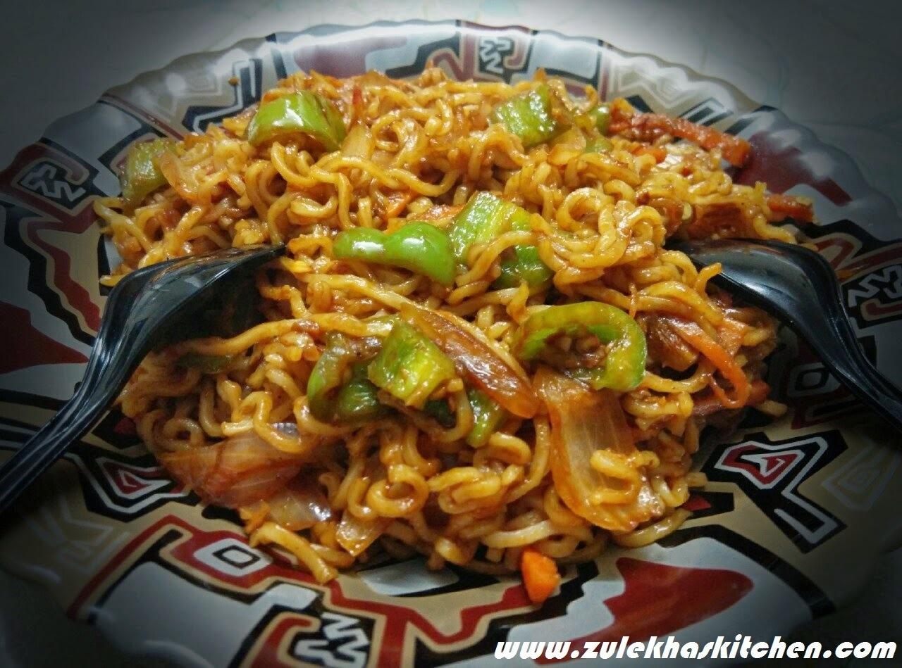 Recipe of Maggi chow