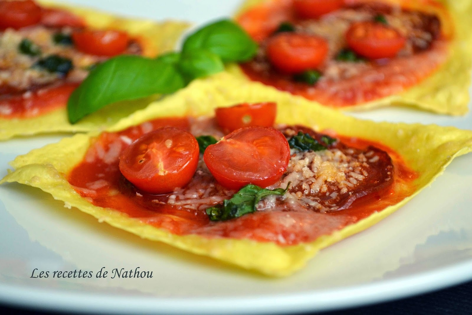 Minis-pizzas lasagnes