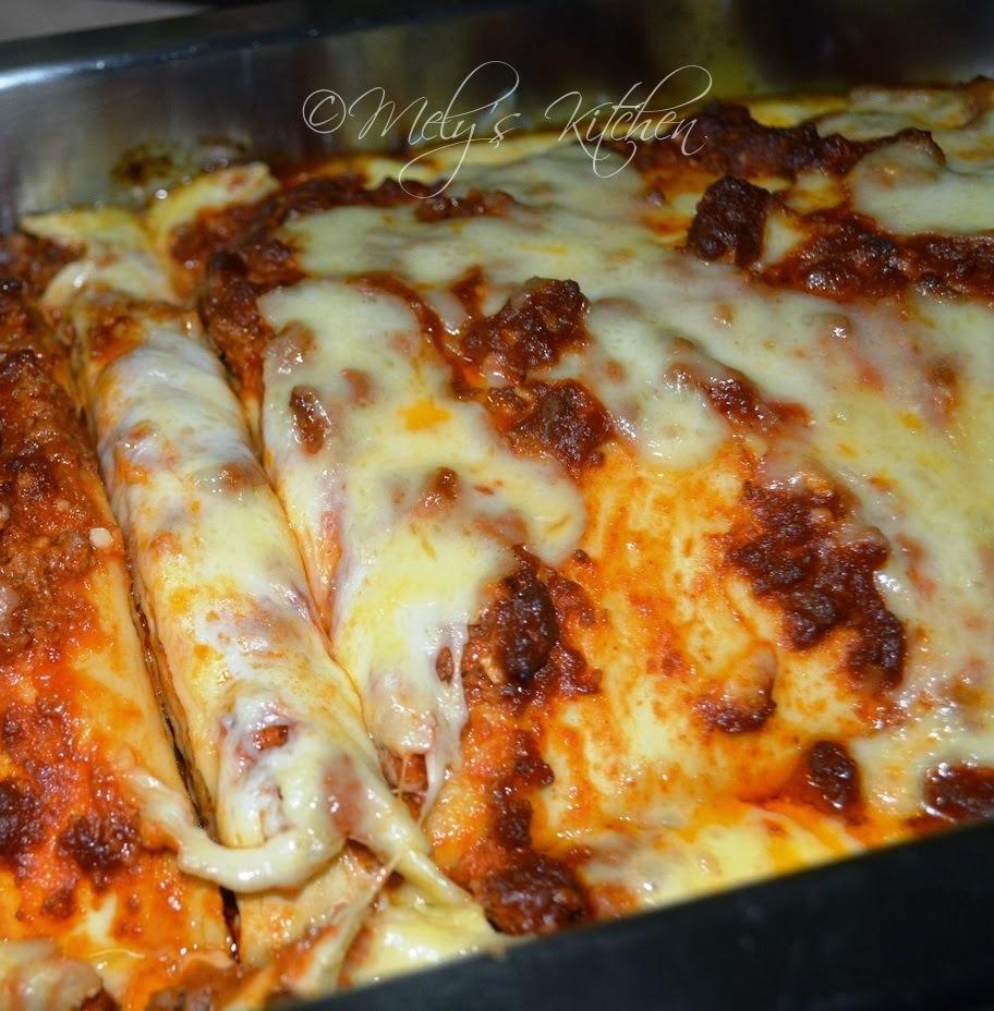 Mely's Kitchen Lasagna