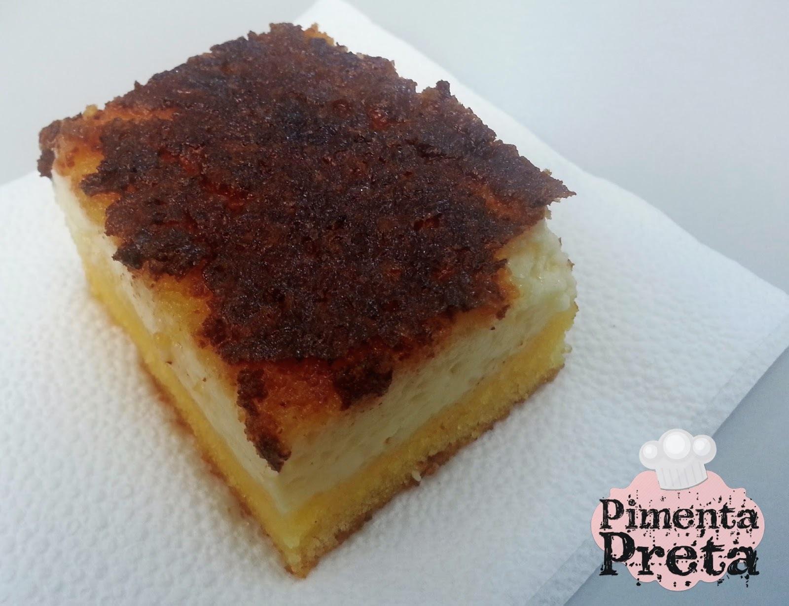bolo de fuba cremoso com queijo ralado e leite condensado